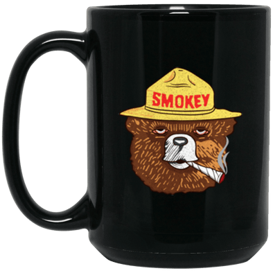 Smokey Black Mug 15oz (2-sided)