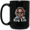 Rug Life Black Mug 15oz (2-sided)
