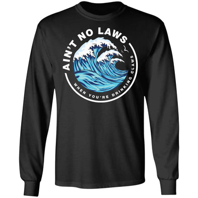 Drinking Claws Heavy Long Sleeve