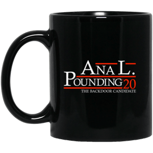 Anal Pounding 20 Black Mug 11oz (2-sided)