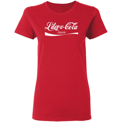 Liter O Cola Classic Ladies Tee