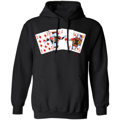 Poker Face Mask Hoodie
