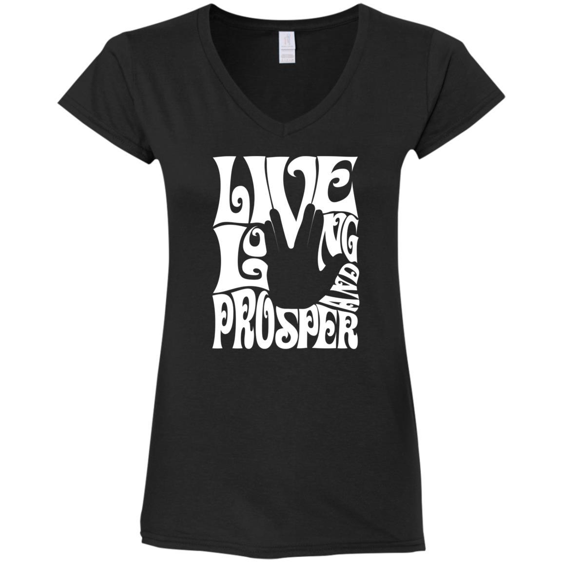 Prosper Retro Ladies V-Neck