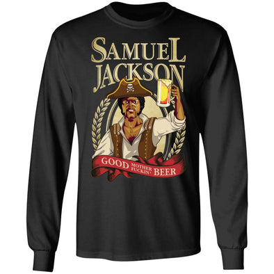Sam Jackson Beer Heavy Long Sleeve