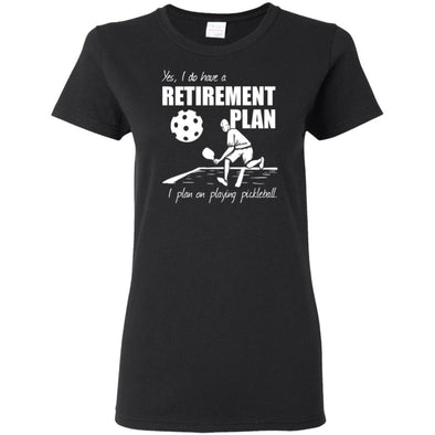Pickleball Retirement Ladies Tee