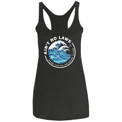 Drinking Claws Ladies Racerback Tank