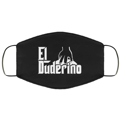 El Duderino Godfather Face Mask (ear loops)