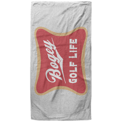 Bogey Golf Beach Towel