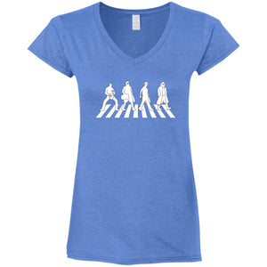Abide Road Ladies V-Neck
