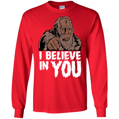 Bigfoot Believe Long Sleeve