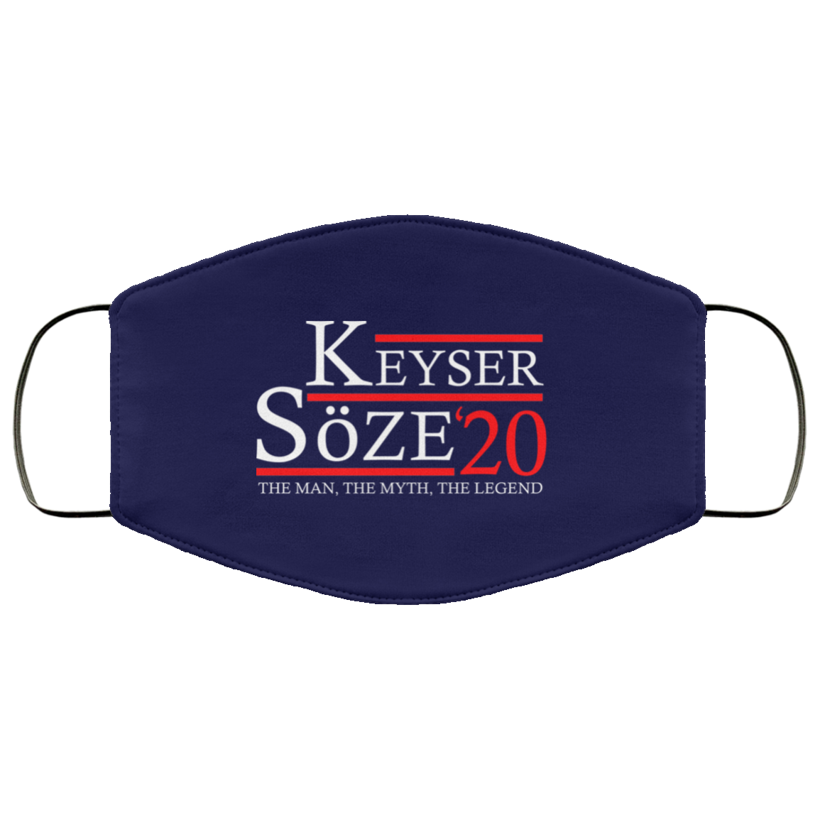 Keyser Soze 20 Face Mask (ear loops)