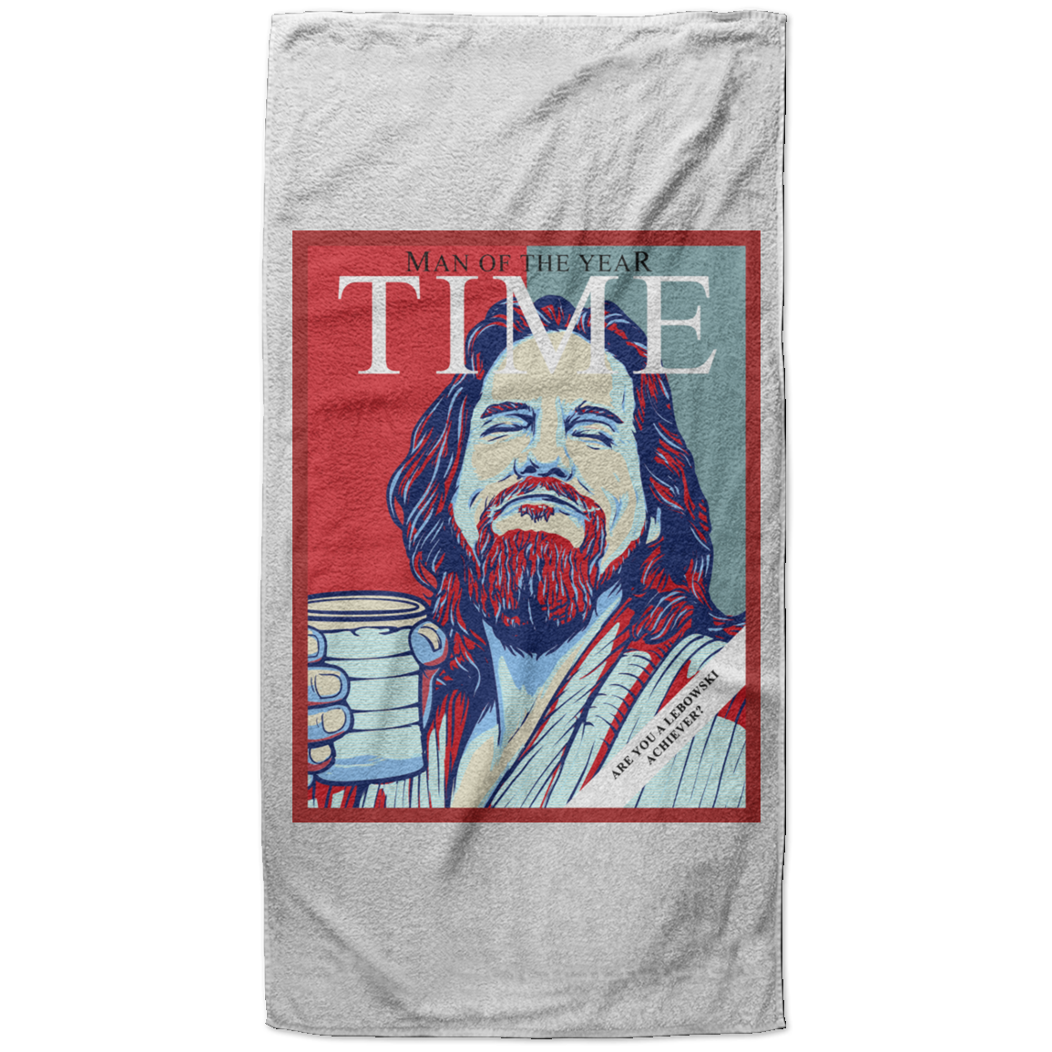 Man of The Year Beach Towel