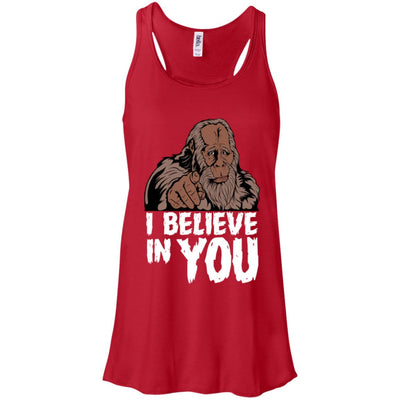 Bigfoot Believe Flowy Tank