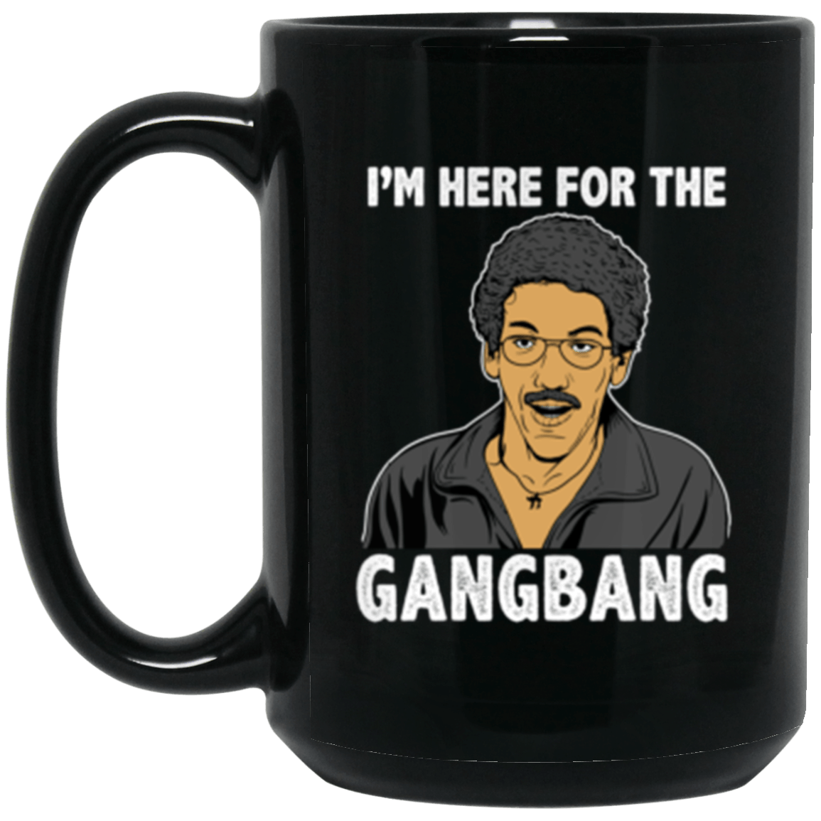 Gangbang Black Mug 15oz (2-sided)