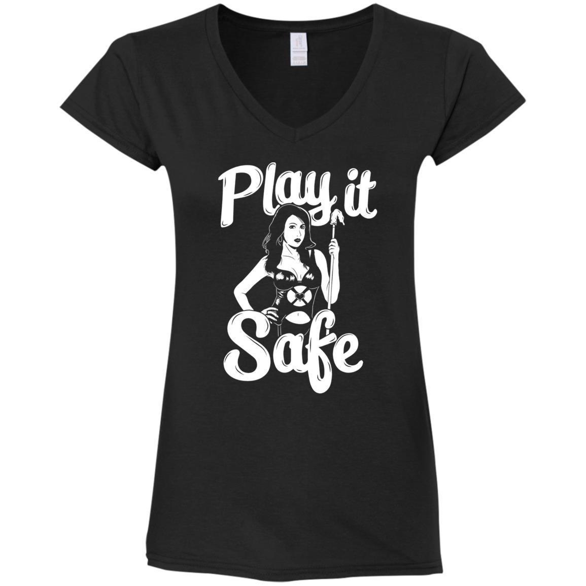 Play it Safe Ladies V-Neck