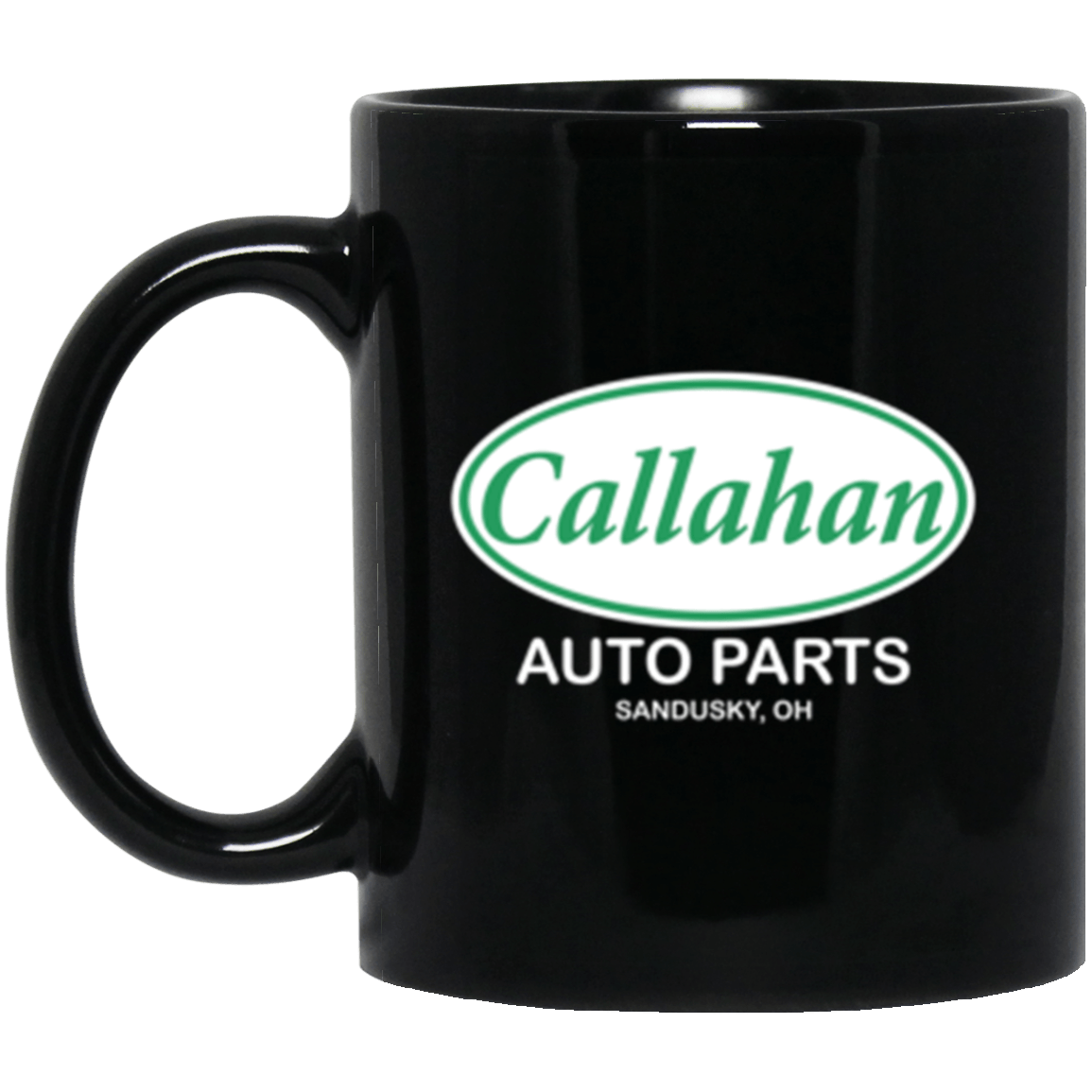 Callahan Auto Black Mug 11oz (2-sided)