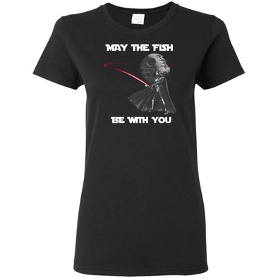 Fish Be With You Ladies Tee