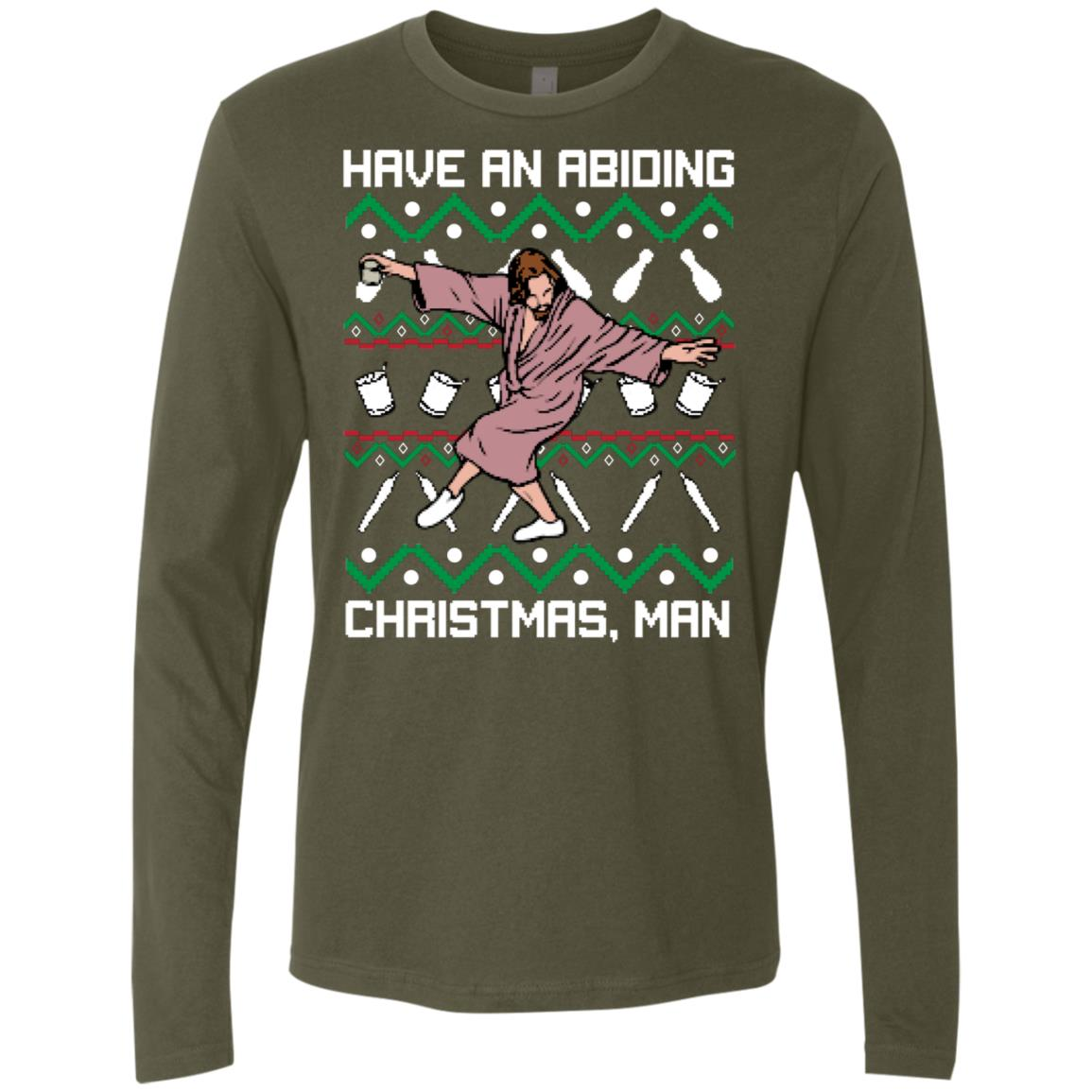Abiding Christmas Premium Long Sleeve