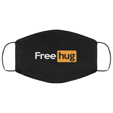Free Hug Face Mask (ear loops)