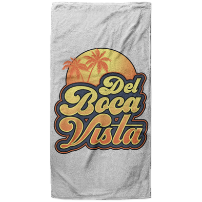 Del Boca Vista Beach Towel