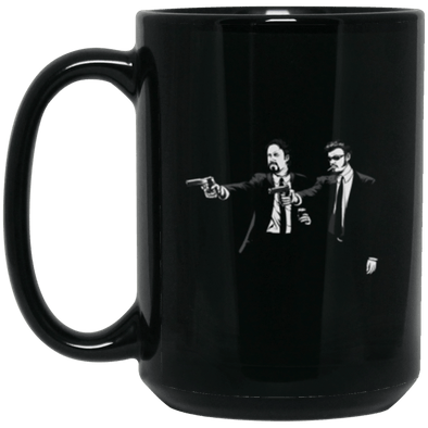 Julian Ricky Black Mug 15oz (2-sided)