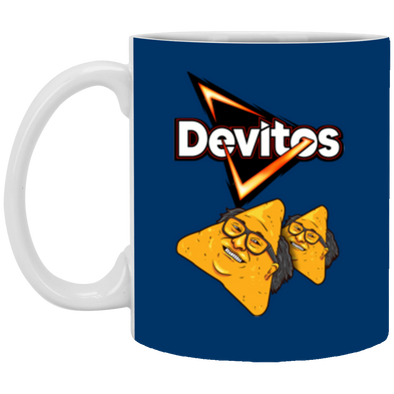 Devitos White Mug 11oz (2-sided)