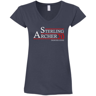 Archer 20 Ladies Fitted V-Neck