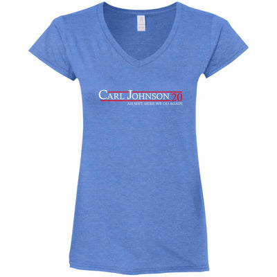 CJ Johnson 20 Ladies V-Neck