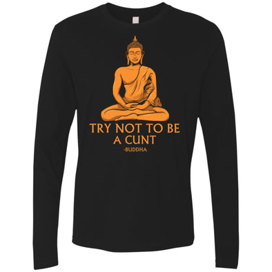 Buddha Cunt Premium Long Sleeve
