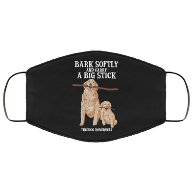 Bark Softly Face Mask (ear loops)