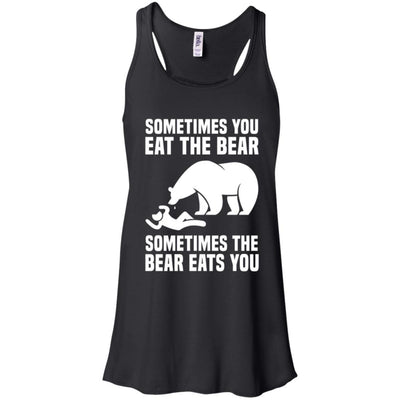 The Bear Flowy Tank