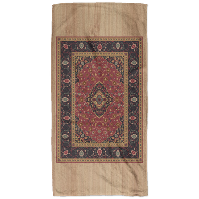 The Rug Pattern Bath Towel