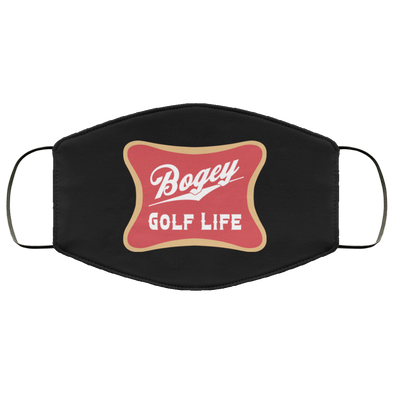 Bogey Golf Face Mask (ear loops)
