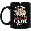 Wild Rumpus Black Mug 11oz (2-sided)