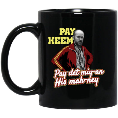Pay Heem Black Mug 11oz (2-sided)