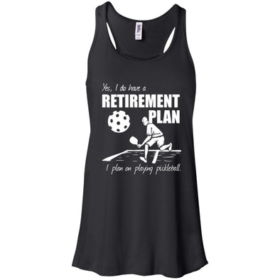 Pickleball Retirement Flowy Tank