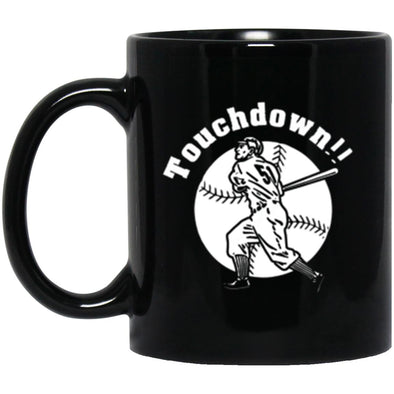 Touchdown Black Mug 11oz (2-sided)