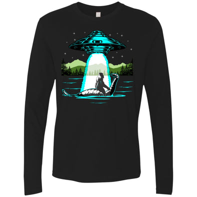 Bigfoot Nessie UFO Premium Long Sleeve