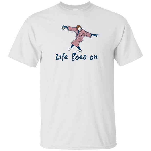 Life Goes On Heavy Cotton Tee
