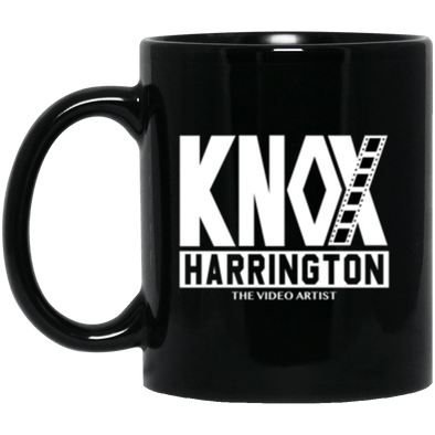 Knox Harrington Black Mug 11oz (2-sided)