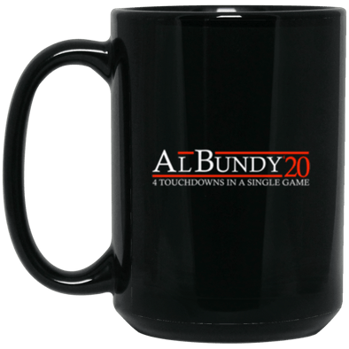 Bundy 20 Black Mug 15oz (2-sided)
