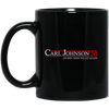 CJ Johnson 20 Black Mug 11oz (2-sided)