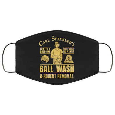Spackler Ball Wash Face Mask (ear loops)
