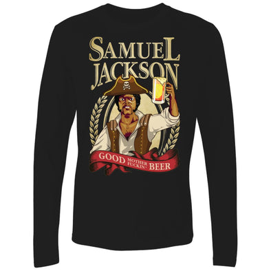 Sam Jackson Beer Premium Long Sleeve