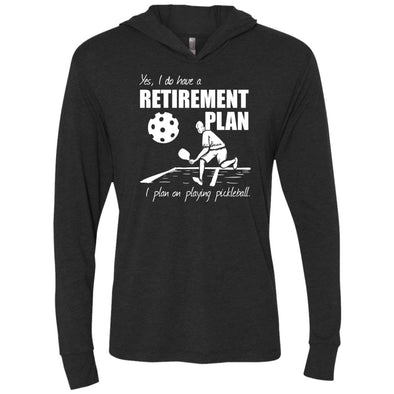 Pickleball Retirement Premium Light Hoodie
