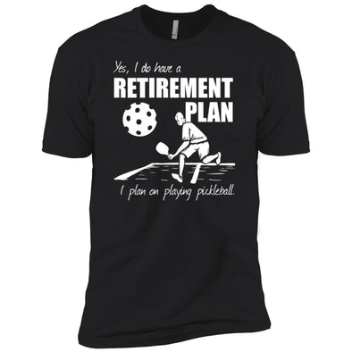 Pickleball Retirement Premium Tee