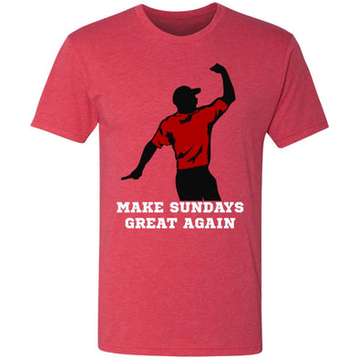 Make Sundays Great Again Premium Triblend Tee