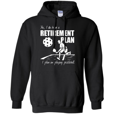 Pickleball Retirement Hoodie