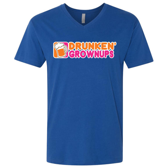 Drunken Grownups Premium V-Neck