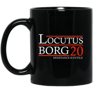 Locutus Borg 20 Black Mug 11oz (2-sided)